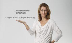 Tilfredshedsgaranti - gratis stressbehandling