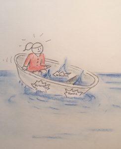 Stresshåndtering - 3 huller i båden