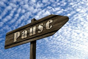 Stresshåndtering - tag en pause