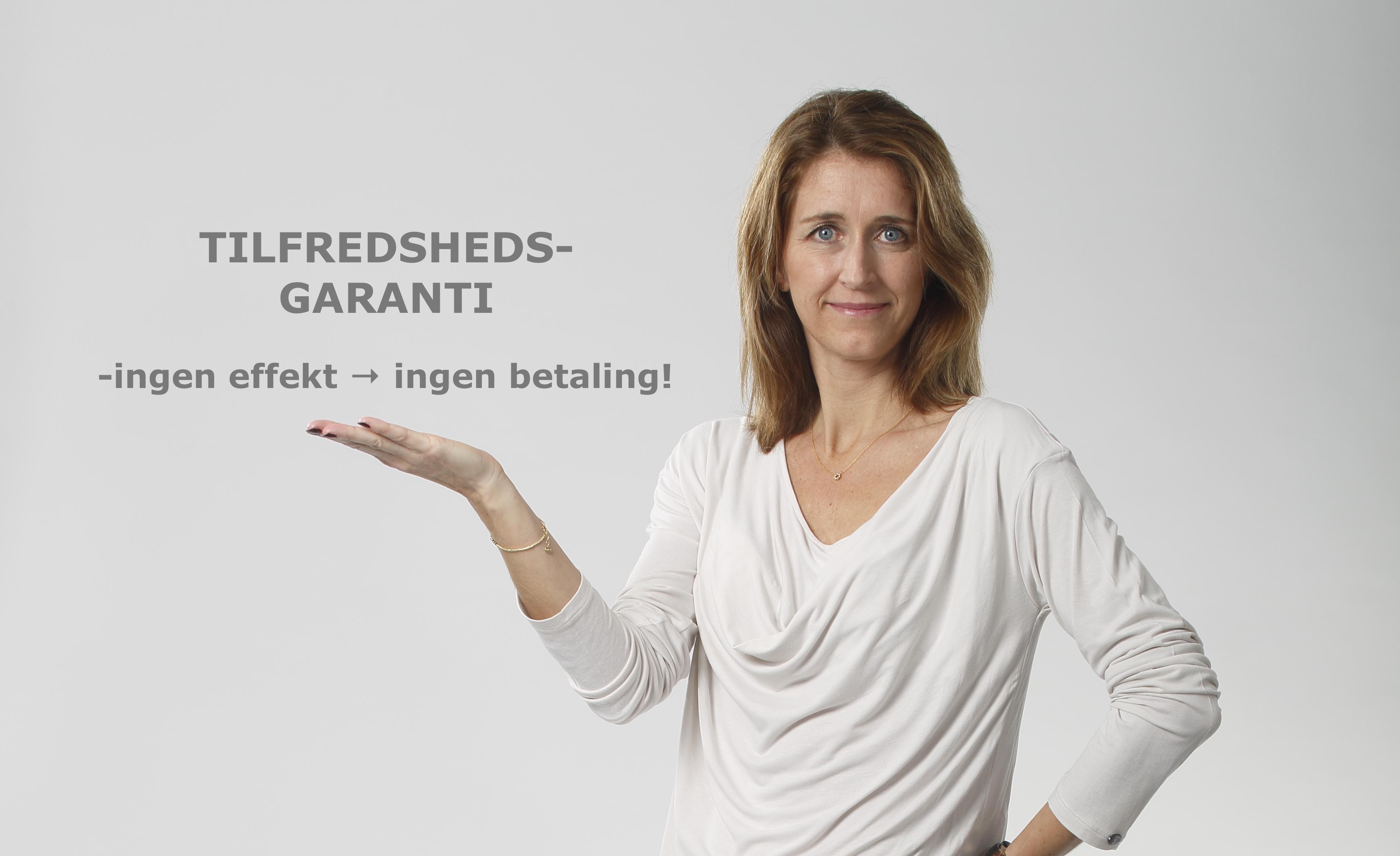Tilfredshedsgaranti - ingen effekt→ingen betaling